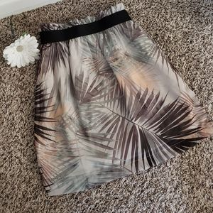 H&M Palm Skirt